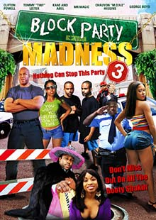 Movie Poster for Block Party Madness