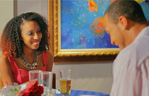 Gallery image from movie. A couple on a date.