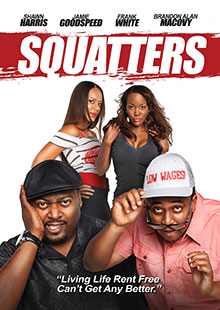 Movie Poster for Squatters