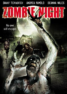 Movie Poster for Zombie Night