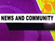 Poster for News & Community